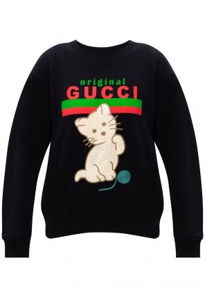 Logo sweatshirt od Gucci