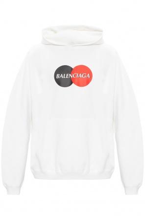 Logo hoodie od Balenciaga