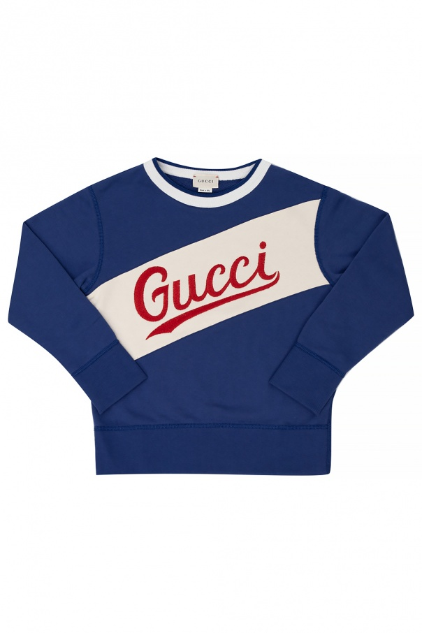 Gucci Kids Sweatshirt with logo
