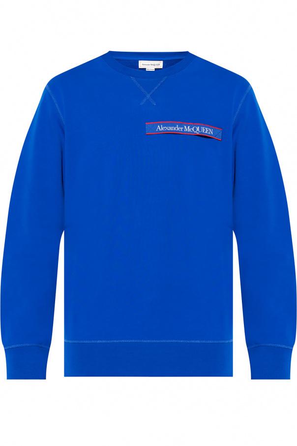 Alexander McQueen Bluza z logo