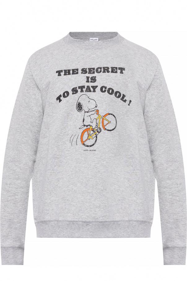 Saint Laurent Sweatshirt with logo