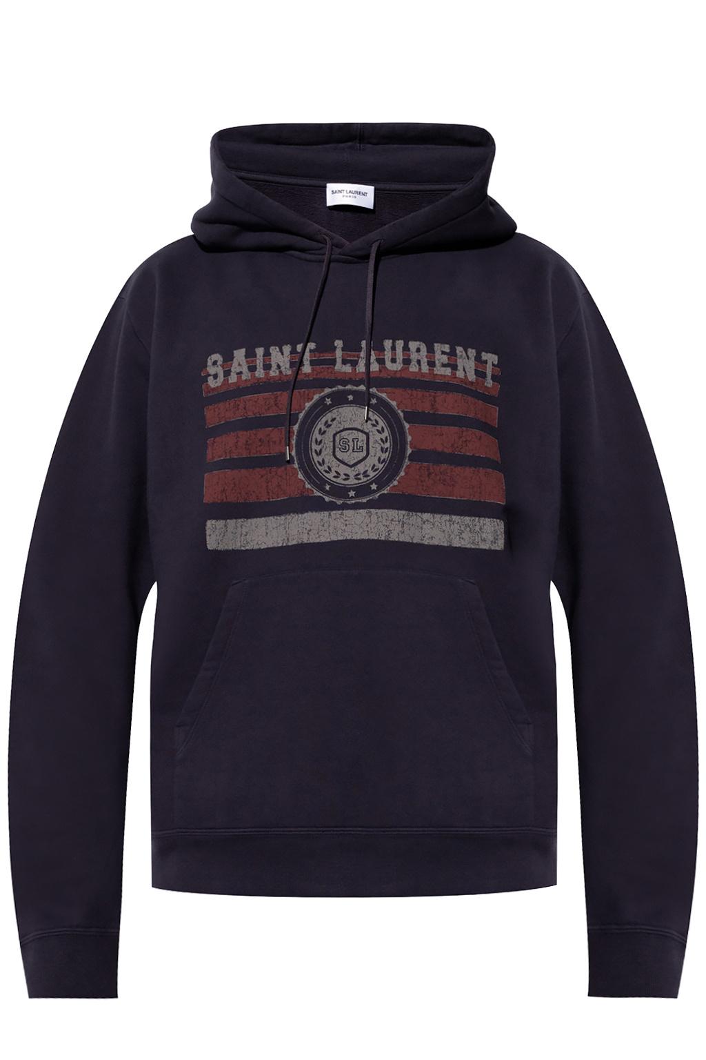 Saint Laurent Hoodie with logo