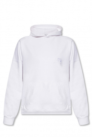 Logo-embroidered hoodie od Balenciaga