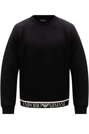 Sweatshirt with logo od Emporio Armani