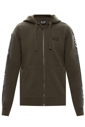 Logo hoodie od EA7 Emporio Armani