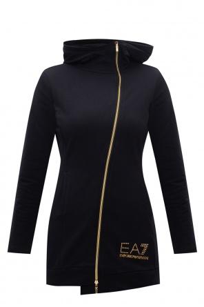 Sweatshirt with logo od EA7 Emporio Armani