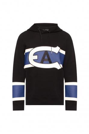 Sweatshirt with logo od Emporio Armani