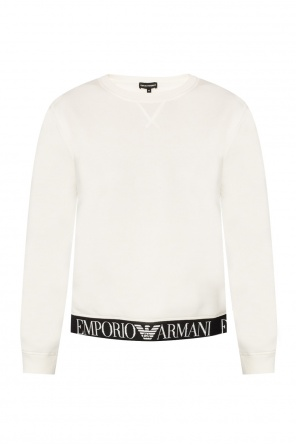 Sweatshirt with an embroidered logo od Emporio Armani