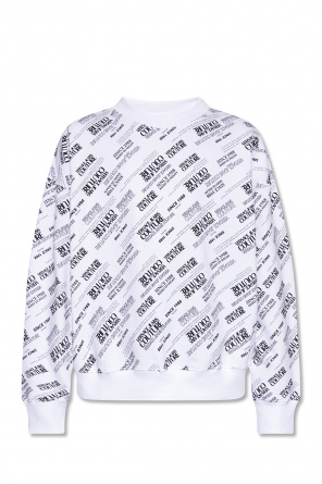 Sweatshirt with logo od Versace Jeans Couture