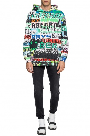 Patterned hoodie od Burberry