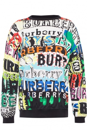 Printed sweatshirt od Burberry