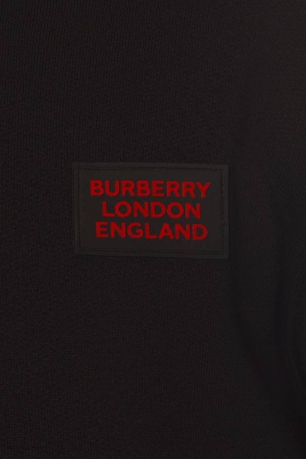 Logo hoodie od Burberry