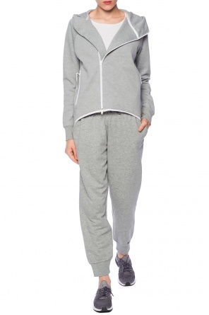 Asymmetrical hooded sweatshirt od Nike