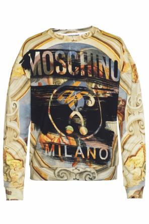 Patterned sweatshirt od Moschino