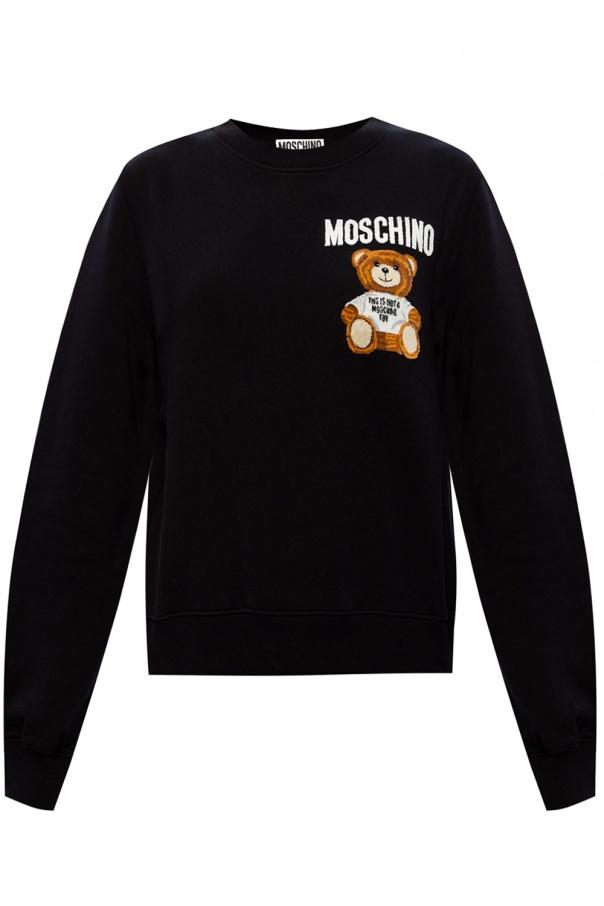 Moschino Bluza z logo