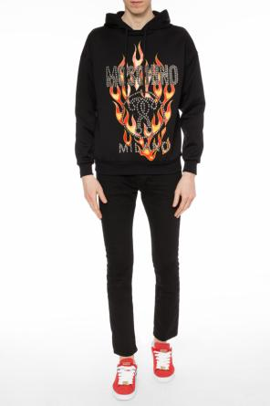 Studded sweatshirt od Moschino