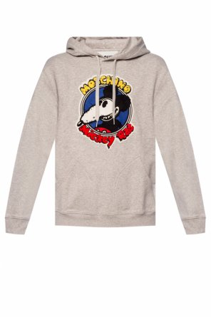 Sweatshirt with 'mickey rat' motif od Moschino