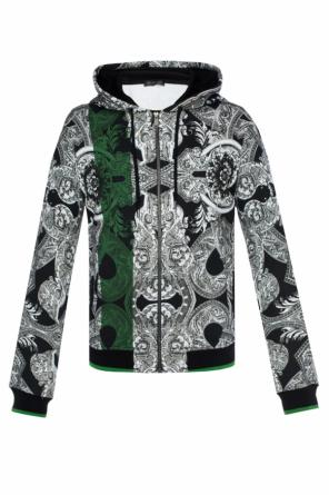 Patterned sweatshirt od Versace