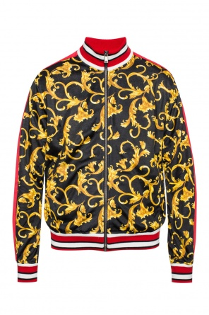 Sweatshirt with band collar od Versace