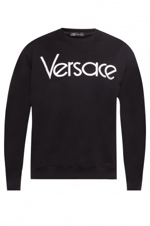 Logo-embroidered sweatshirt od Versace