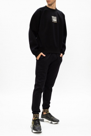 Printed sweatshirt od Versace