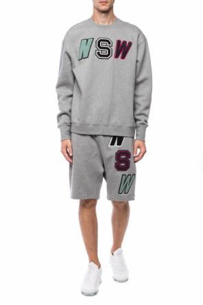 Sweatshirt with patches od Nike