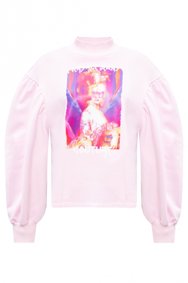 Versace Jeans Couture Printed turtleneck sweater