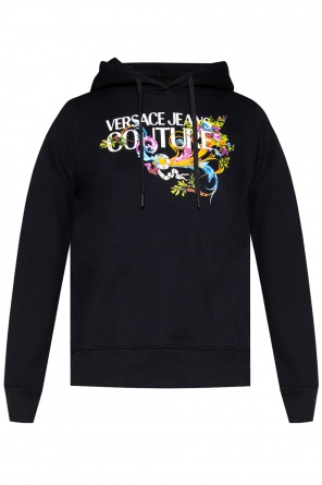 Printed hoodie od Versace Jeans Couture
