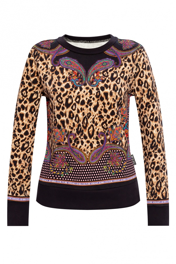 Versace Jeans Couture Patterned sweatshirt