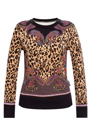 Patterned sweatshirt od Versace Jeans Couture