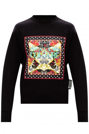 Logo-printed sweatshirt od Versace Jeans Couture