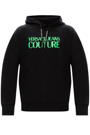 Logo-printed hoodie od Versace Jeans Couture