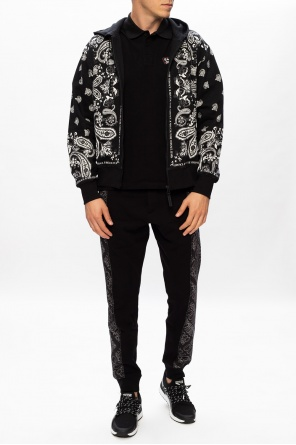 Patterned hoodie od Versace Jeans Couture