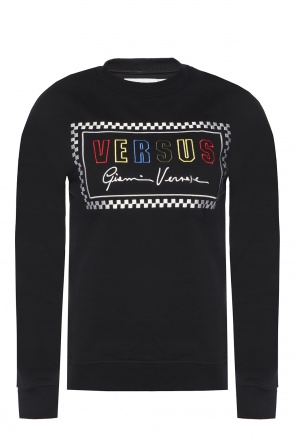 Embroidered sweatshirt od Versace Versus