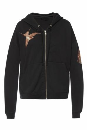 Hooded sweatshirt 'birds' od AllSaints