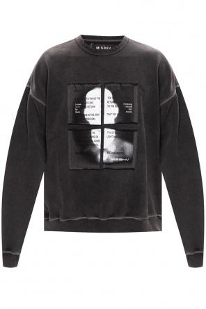 Sweatshirt with logo od MISBHV