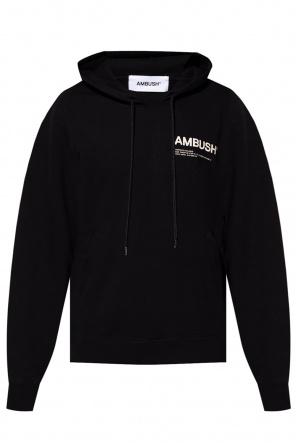 Hoodie with logo od Ambush