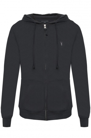 Logo-embroidered sweatshirt od Allsaints
