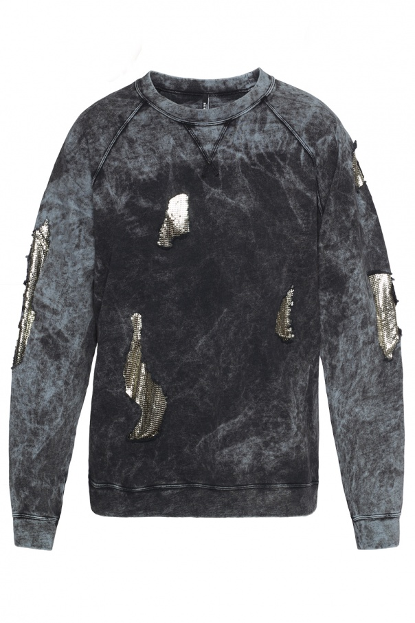 9ed7ec14 Sweatshirt with decorative holes Versace Versus - Vitkac shop online
