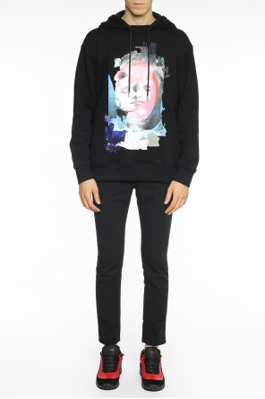 Colourful-printed sweatshirt od Versace Versus