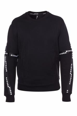Logo-embroidered sweatshirt od Versace Versus