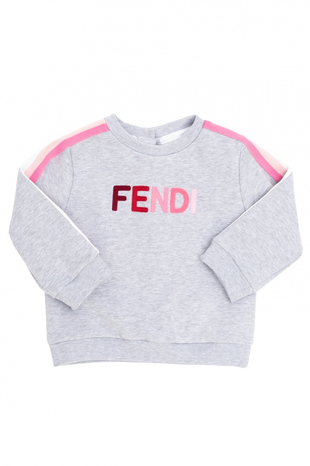 Fendi Kids Logo sweatshirt