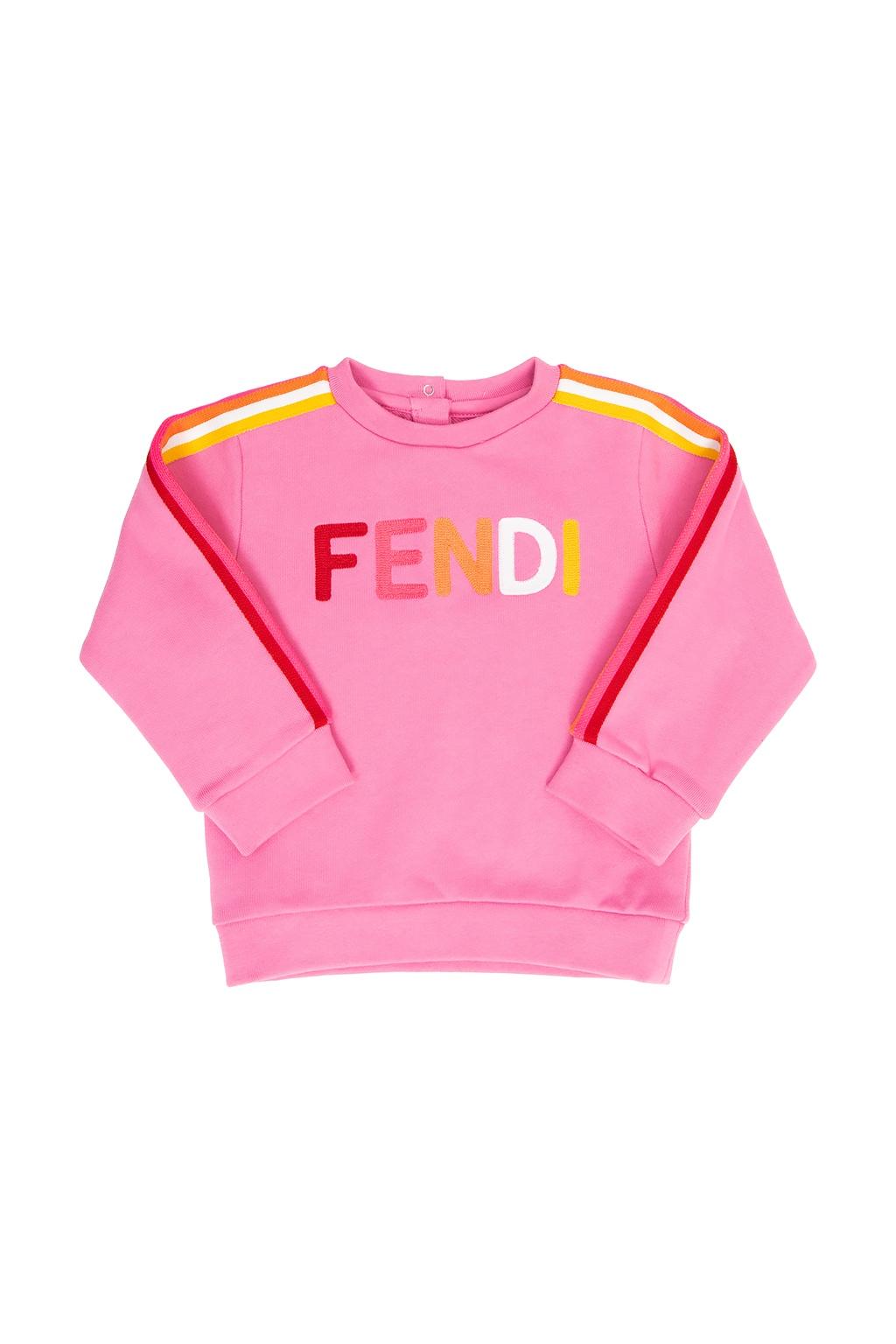 Fendi Kids 品牌运动衫
