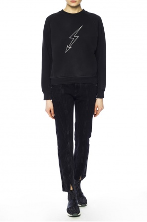 Distressed sweatshirt od Givenchy