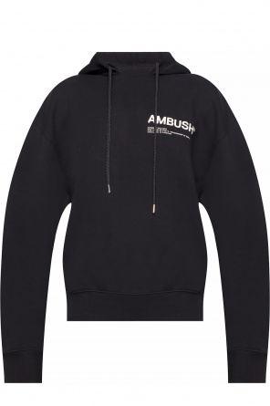Logo-printed hoodie od Ambush
