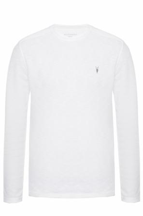 'clash ls' logo-embroidered sweater od AllSaints