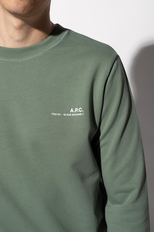 A.P.C. Logo-printed sweatshirt