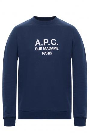 Sweatshirt with logo od A.P.C