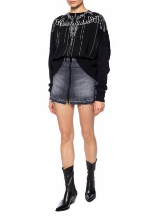 Embroidered sweatshirt od Marcelo Burlon