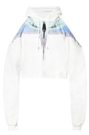 Denuded shoulders sweatshirt od Marcelo Burlon